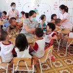 Chế độ dinh dưỡng cần thiết cho trẻ mầm non