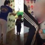 Cô giáo dùng dép đánh vào mặt trẻ tại trường