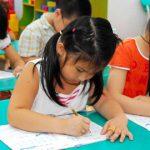 Không sử dụng tài liệu dạy viết chữ ở trường mầm non