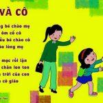 Top 10 bài thơ hay cho bé mầm non
