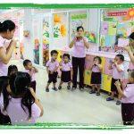 Số lượng trẻ mầm non tại trường công lập đang tăng lên