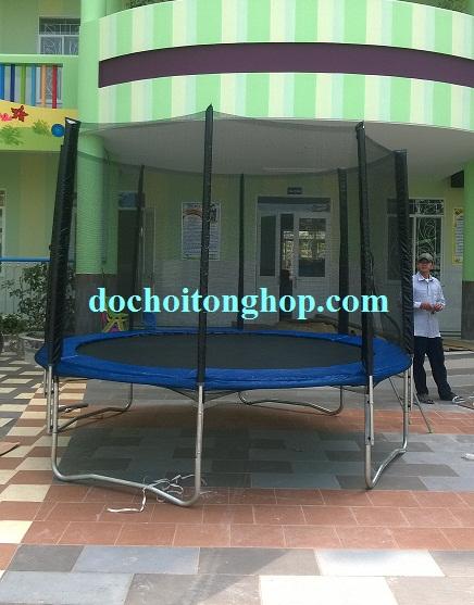 Bạt nhún lò xo trampoline