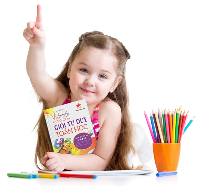 bộ sách giúp trẻ mầm non học toán