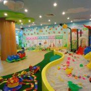 Những lợi ích từ nhà chơi liên hoàn cho trẻ