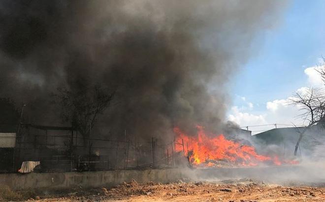 Cháy trường mầm non ở Bình Dương