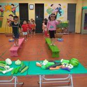 Phát triển vận động ở trẻ mầm non
