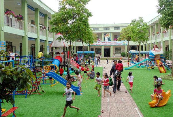 Xây dựng trường mầm non lấy trẻ làm trung tâm